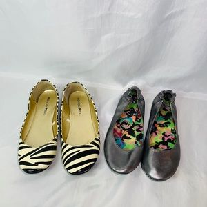 Shoes - Two pair of flats size 8.5